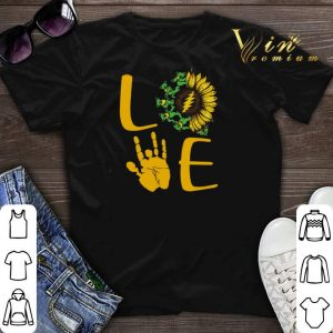 Sunflower Bear Skeleton Hand Love shirt sweater