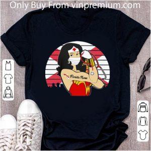 Vintage Wonder Woman Tattoos Florida Nurse Covid-19 Shirt