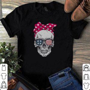 American Flag Skull shirt
