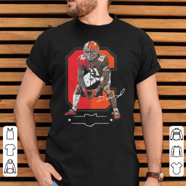 Denzel Ward Columbus to Cleveland shirt