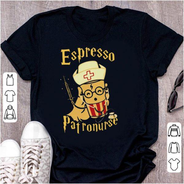 Espresso patronurse nurse shirt