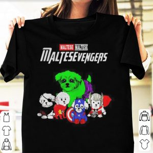 Maltese Maltesevengers Marvel Avengers Endgame shirt