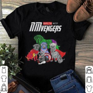 Marvel Avengers Neapolitan Mastiff NMvengers shirt
