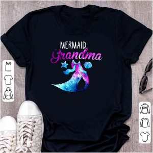 Mermaid Grandma Mom Day shirt