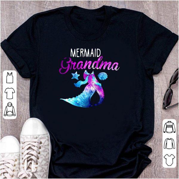 Mermaid Grandma Mom Day shirt