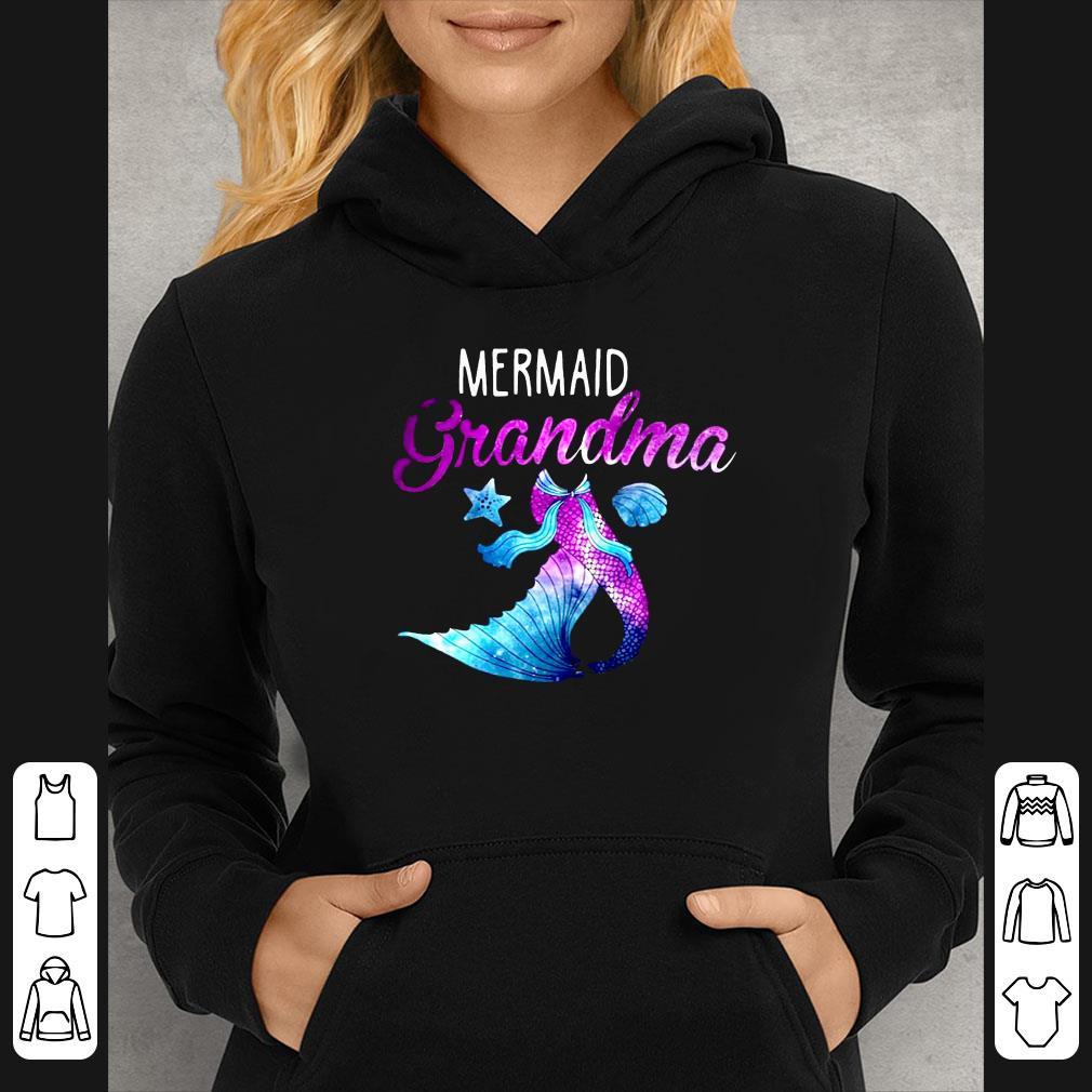 Mermaid Grandma Mom Day shirt 4 - Mermaid Grandma Mom Day shirt