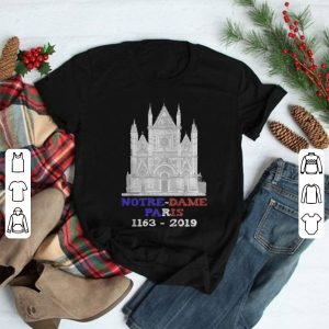 Notre Dame Paris 1163-2019 Paris France City shirt