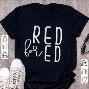 Red for Ed – Teacher shirt