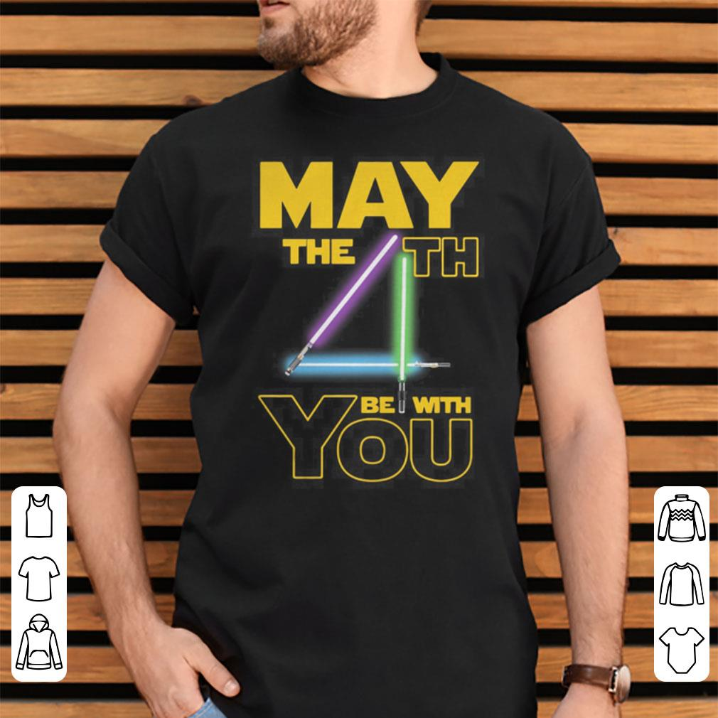 63ea089e Star wars may the 4th be with you shirt, hoodie, sweater, longsleeve ...