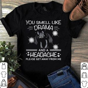 Dragon You Smell Like Drama And A Headache Please Get Away From Me shirt