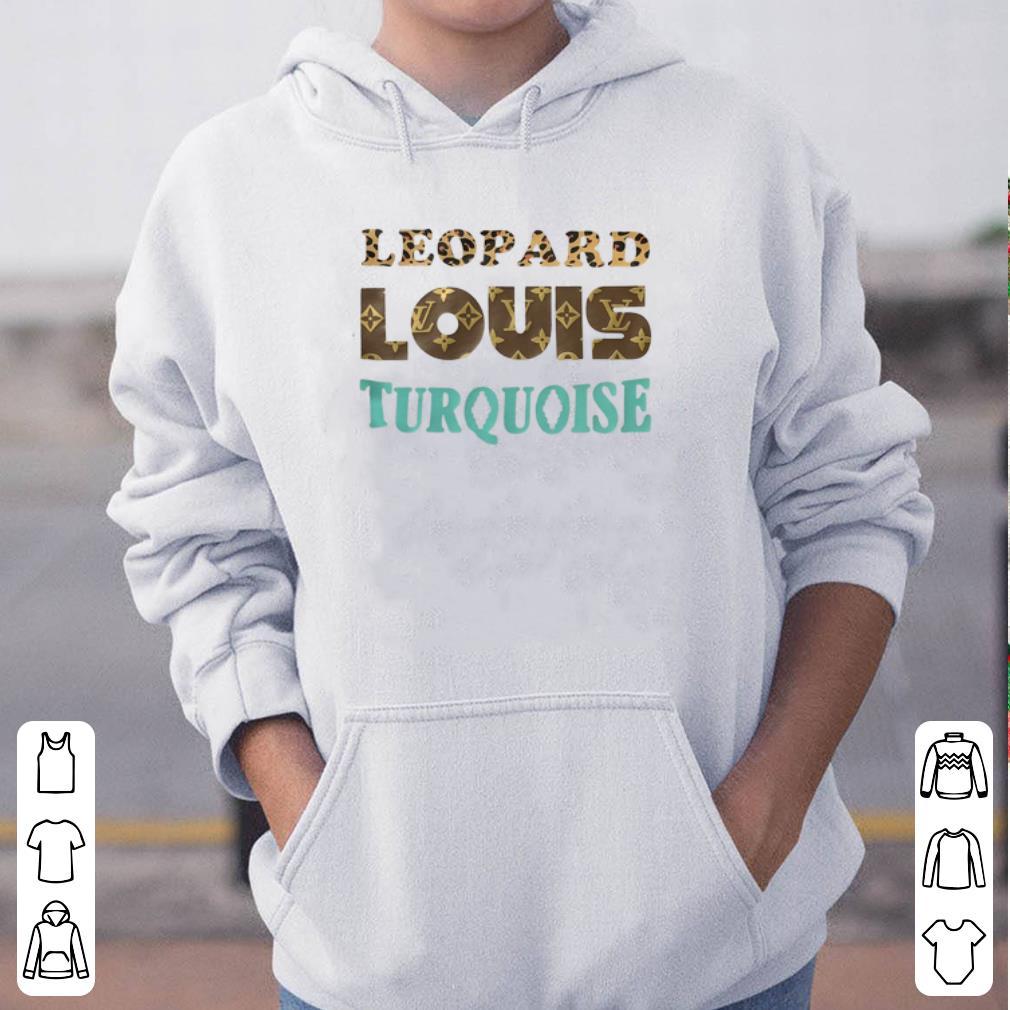 Leopard louis turquoise shirt 4 - Leopard louis turquoise shirt