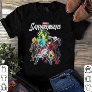 Marvel Avengers Endgame Dragon ball Saiys Avengers shirt