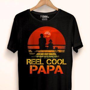 Reel Cool Papa Fising Father shirt