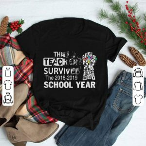 This Teacher Survived The 2018-2019 School Year Evaporate shirt