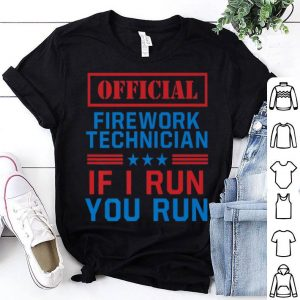 4th Of July Firework Technician Pyromaniac Usa Design Shirt