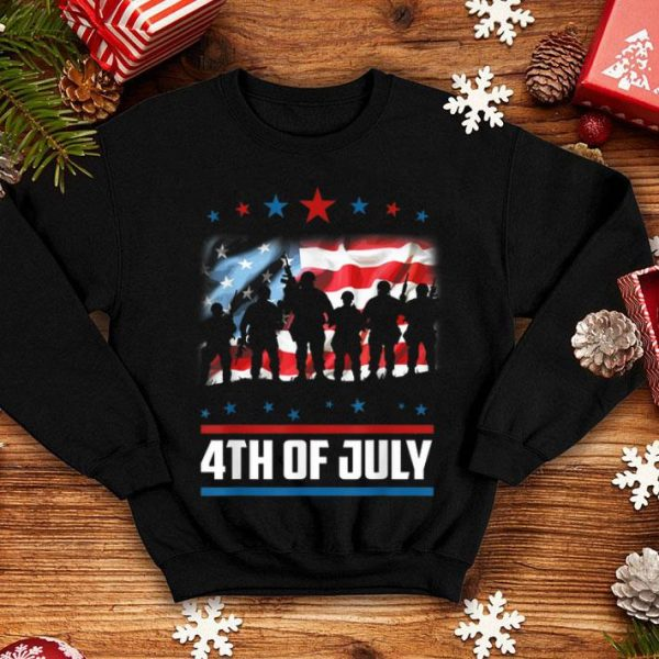 4th Of July Patriotic Flags America Independence Day shirt