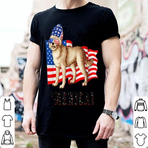 4th of July Cockapoo Dog Merica shirt