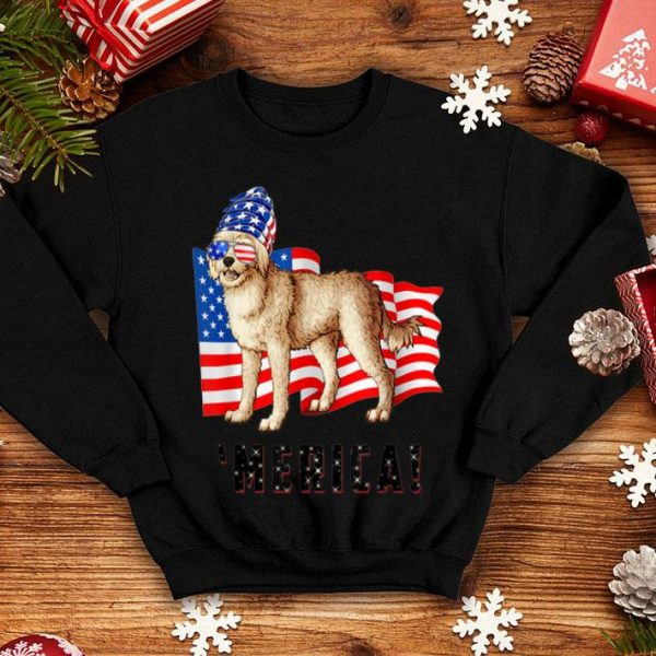 4th of July Cockapoo Dog Merica shirt