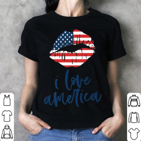 4th of July Flag Labor Memorial Day I Love America shirt