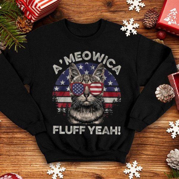 A'meowica Fluff Yeah Shirt
