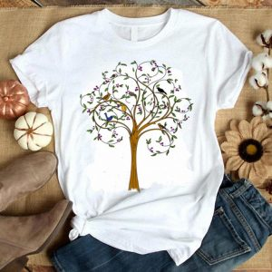 Birds On The Tree Nature Wild Lovers shirt