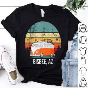 Bisbee, Az Vintage Sunset Retro Hippie Van Camper shirt