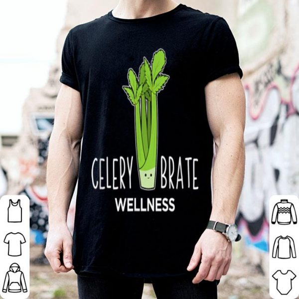 Celerybrate Wellness Cute Vegetable Puns Shirt