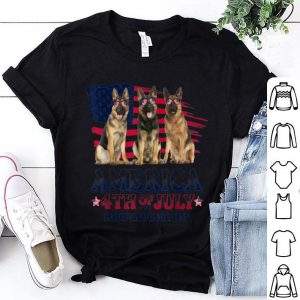 German Shepherd America 4th Of July Independence Day shirt