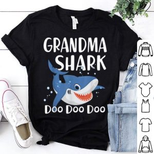 Grandma Shark Doo Doo Doo Father Day shirt