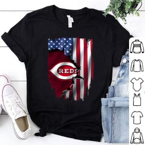 MLB American Flag Cincinnati Reds shirt