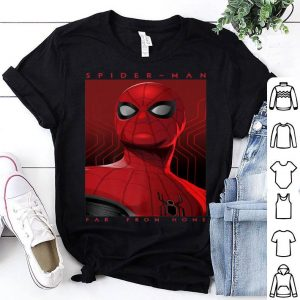 Marvel Spider-man Far From Home Tonal Movie Poster Shirt