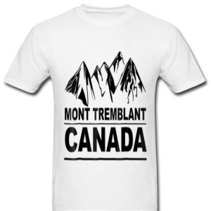 Mont Tremblant Canada Camping Canadian Patriotic shirt