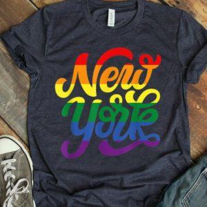 Rainbow New York NYC World Pride LGBT 2019 shirt