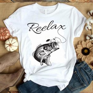 Reelax Relax with a Reel Fishing for Dad Shirt