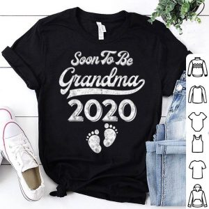 Soon To Be Grandma 2020 Pregnancy Announcement Gift Shirt