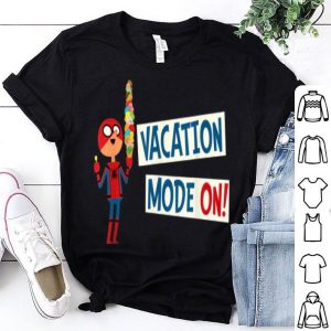 Spider-man Far From Home Vacation Mode On Shirt