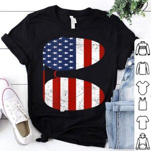 Sunglasses American Flag Patriotic 4th Of July shirt