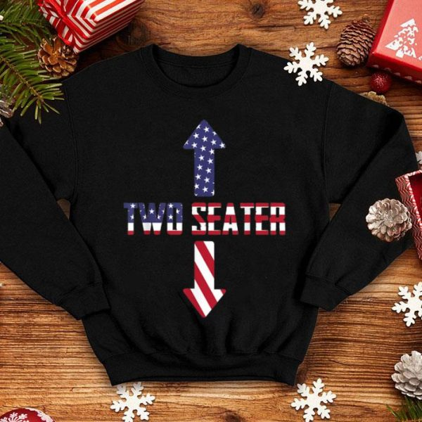 Two Seater Arrow American Flag 4th Of July shirt