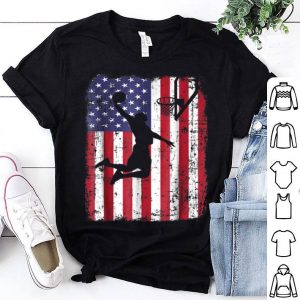 USA American Flag Basketball Shirt