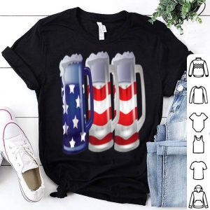 Usa Flag Beer Mugs 4th Of July Outfit shirt