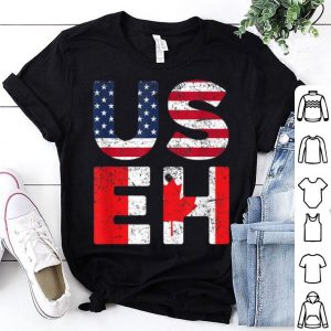 Usa Pride Us Flag Canada Day Useh Canadian Shirt
