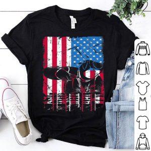 Welder American Flag Patriotic Welder Job shirt