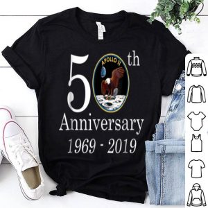 50th Anniversary 1969-2019 Apolo 11 NASA Moon Landing shirt