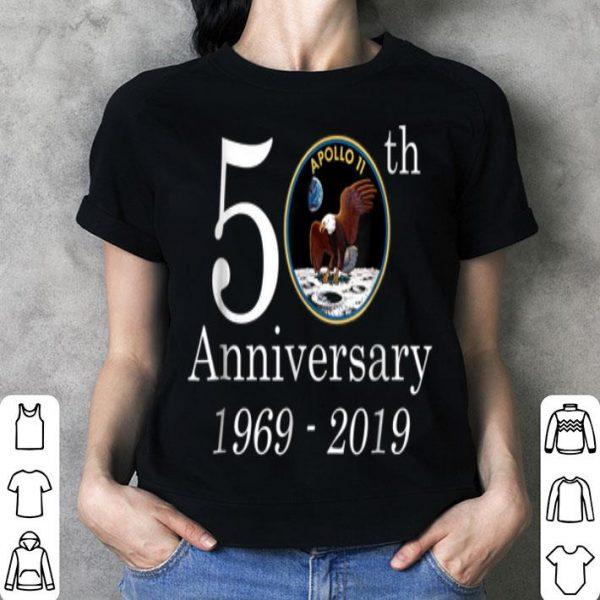 50th Anniversary 1969-2019 Apolo 11 NASA Moon Landing shirt