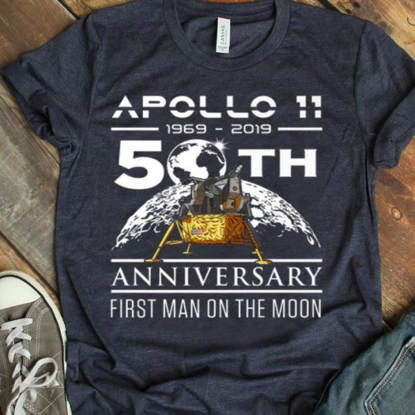 50th Anniversary Apollo 11 Moon Landing July 1969 shirt