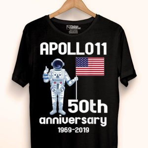 50th Anniversary First Walk On The Moon shirt