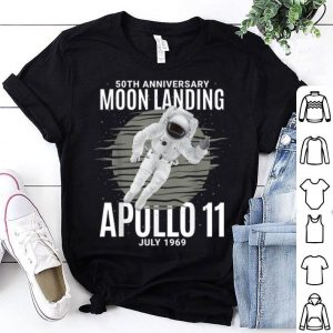 50th Anniversary Moon Landing - Apollo 11 July 1969 shirt