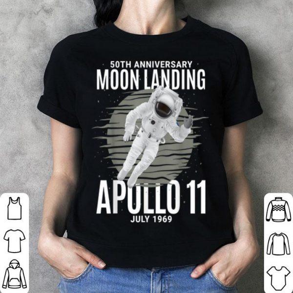 50th Anniversary Moon Landing - Apollo 11 July 1969 shirt
