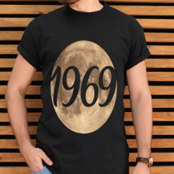 50th Anniversary Of The First Moon Landing 1969 2019 shirt