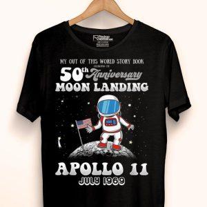50th anniversary moon landing Apollo 11 shirt